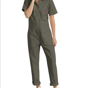 Dickies jumpsuit boiler suit Moss green NWT! 3X